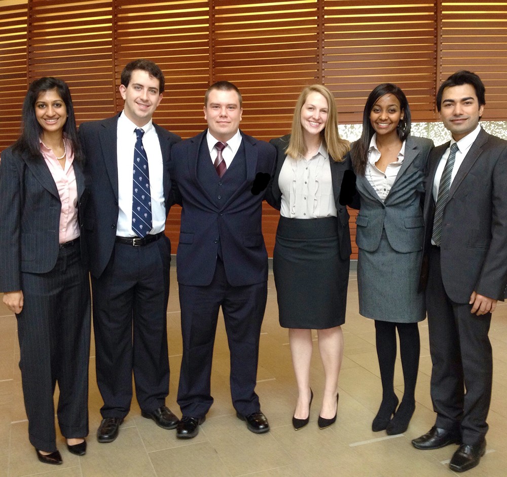 UT Interdisciplinary Team Wins $6,000 First-Place Prize At Global Health Competition