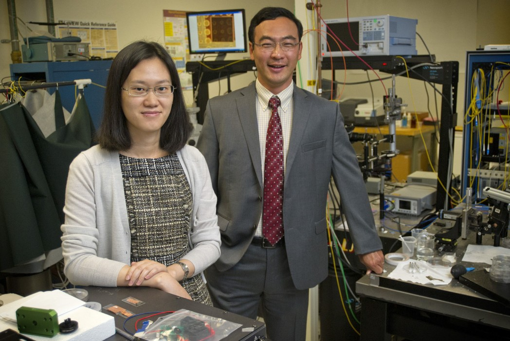 UTArlington Harmful Vapor Detector Awarded $400,369 by National Science Foundation