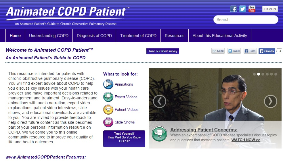 UTHSCSA Launches Two New COPD Websites